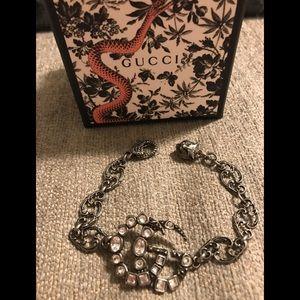 Gucci silver Bracelet- 100% authentic